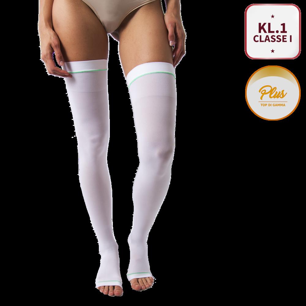 la migliore vendita professionista di vendita caldo taglia 7 Calze medicali antitromboemboliche - Unisex - Classe I (15-21 mmHg - KL.1)  - PLUS - Art.455